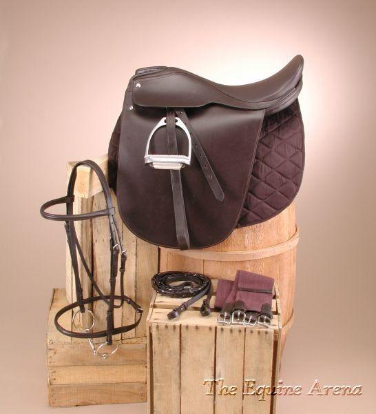 Lane Fox SaddleSeat Package Havana Marronee Leather 17,18,19,20,21