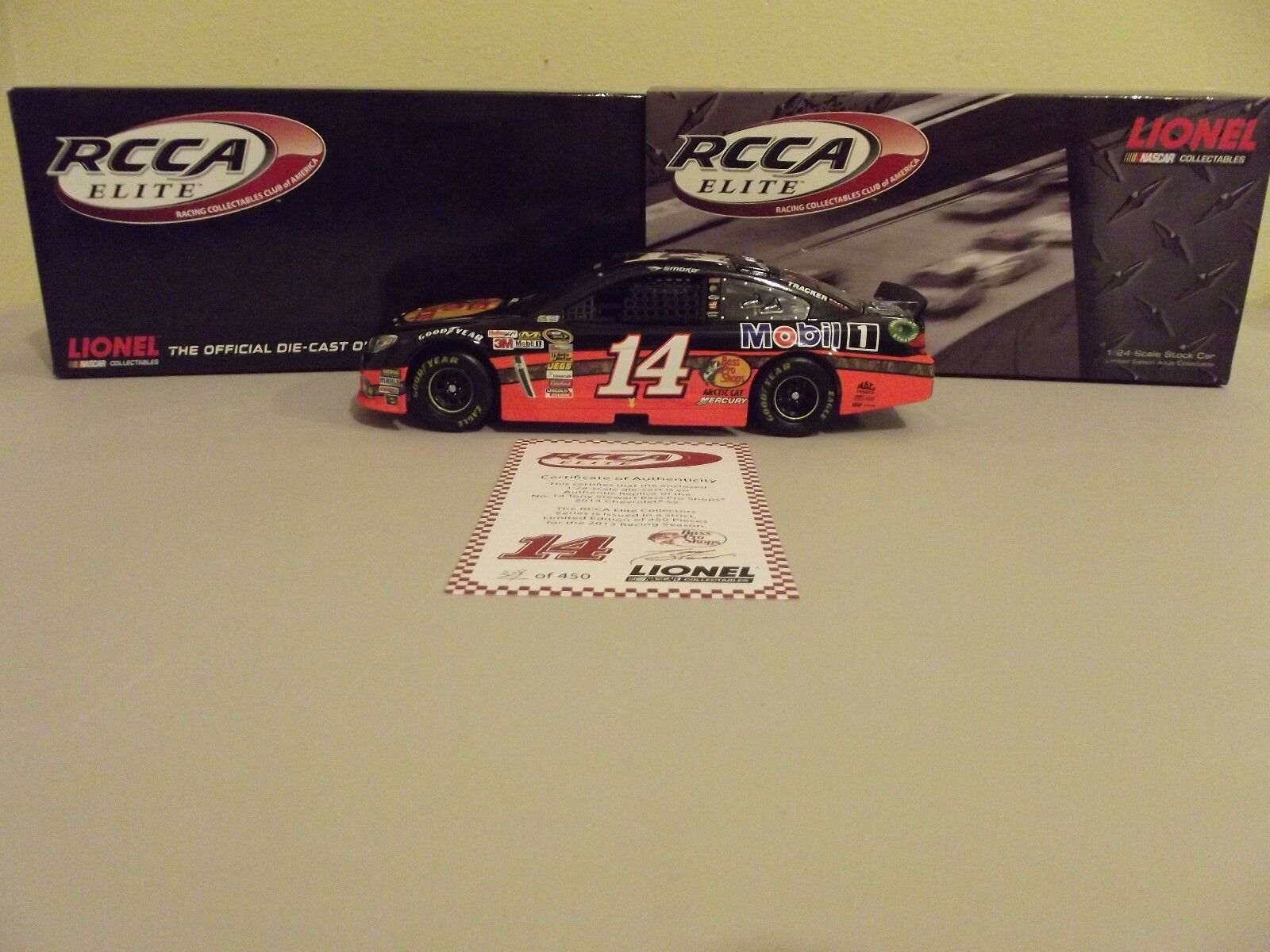 Tony Stewart 2013  14 Bass Pro Shops (Elite) Diecast 1 24