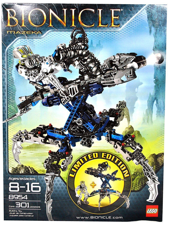 Garanzia del prezzo al 100% LEGO Bionicle Bionicle Bionicle 8954, Mazeka, Limited edizione, 301 Pcs, nuovo  economico in alta qualità
