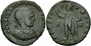Constantinus-II-Follis-Arles-317-CLARITAS-REIPVB-Sol-Globus-Krone-RIC-118-R