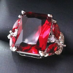 5-Ct-Radiant-Red-Ruby-Ring-Women-Wedding-Jewelry-Gift-14K-Gold-Plated-Free-Ship