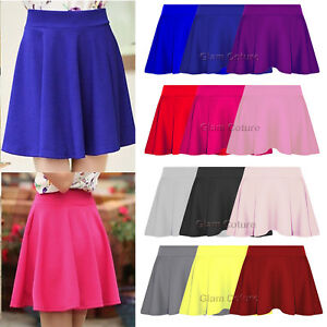 Girls-kids-Circular-Dance-Skirt-Ballet-Skating-Tap-Jazz-Gymnastics-Tutu