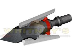 G5 DEADMEAT DEAD MEAT Standard Broadhead Expandable 100/% Steel 125gr