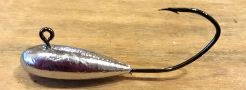 12pk 3//8oz Tube Insert Jig Head 4//0 Hook