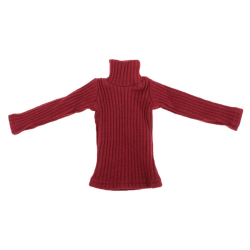 1//6th Male Turtleneck Sweater for 12inch Phicen Kumik Doll Figures Accessory