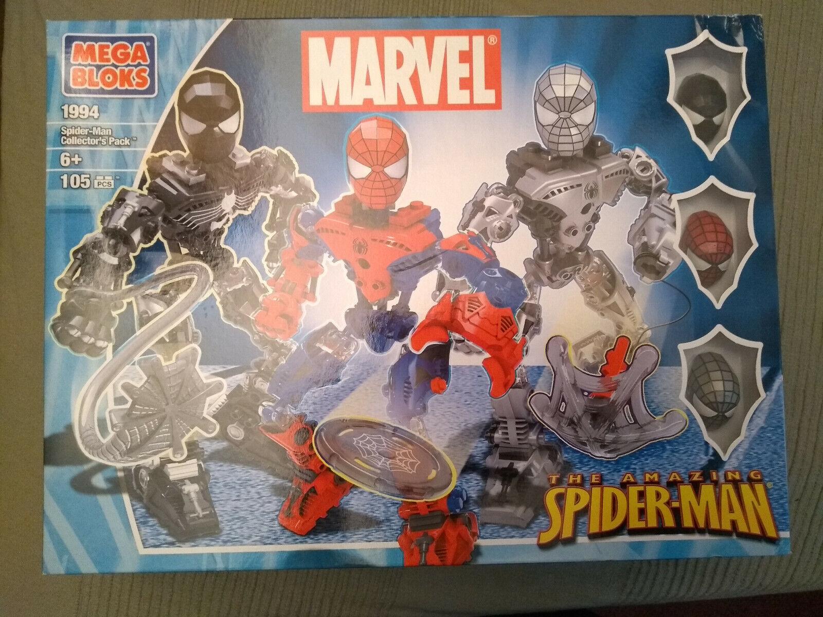 Spider-Man Venom Mega Bloks 1994 Armor Blok Blocks Block Not lego NEW Collectors