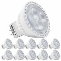 10 Pack Ac/dc 12v 3w Mr11 Led Bulb - Led Spotlight, 35w Halogen Equivalent Bi Pi