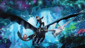 028 How To Train Your Dragon 3 The Hidden World Hiccup Movie 24 X14 Poster Ebay