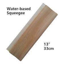 13 Silk Screen Printing Squeegee Scraper Scratch Board Waterbase 65 Durometer