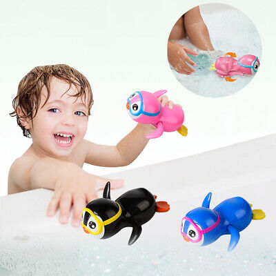 Happy Duck Wind Up Floating Toys for Swimming Pool Bath Tub Toddler Kids