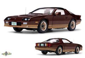 Chevrolet-Camaro-Z28-New-Tooling-Copper-Metallic-1-18-Sunstar-New-Boxed