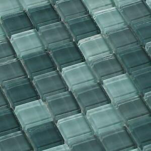 mosaïque céramique carrelage cristal vert menthe Mélange 8 mm | eBay