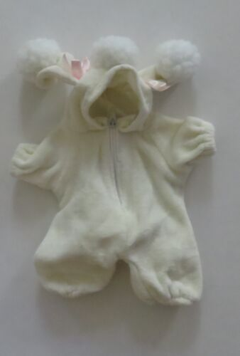 "Poodle Costume that fits most 6-9/"" Beanies Bears and Dolls"