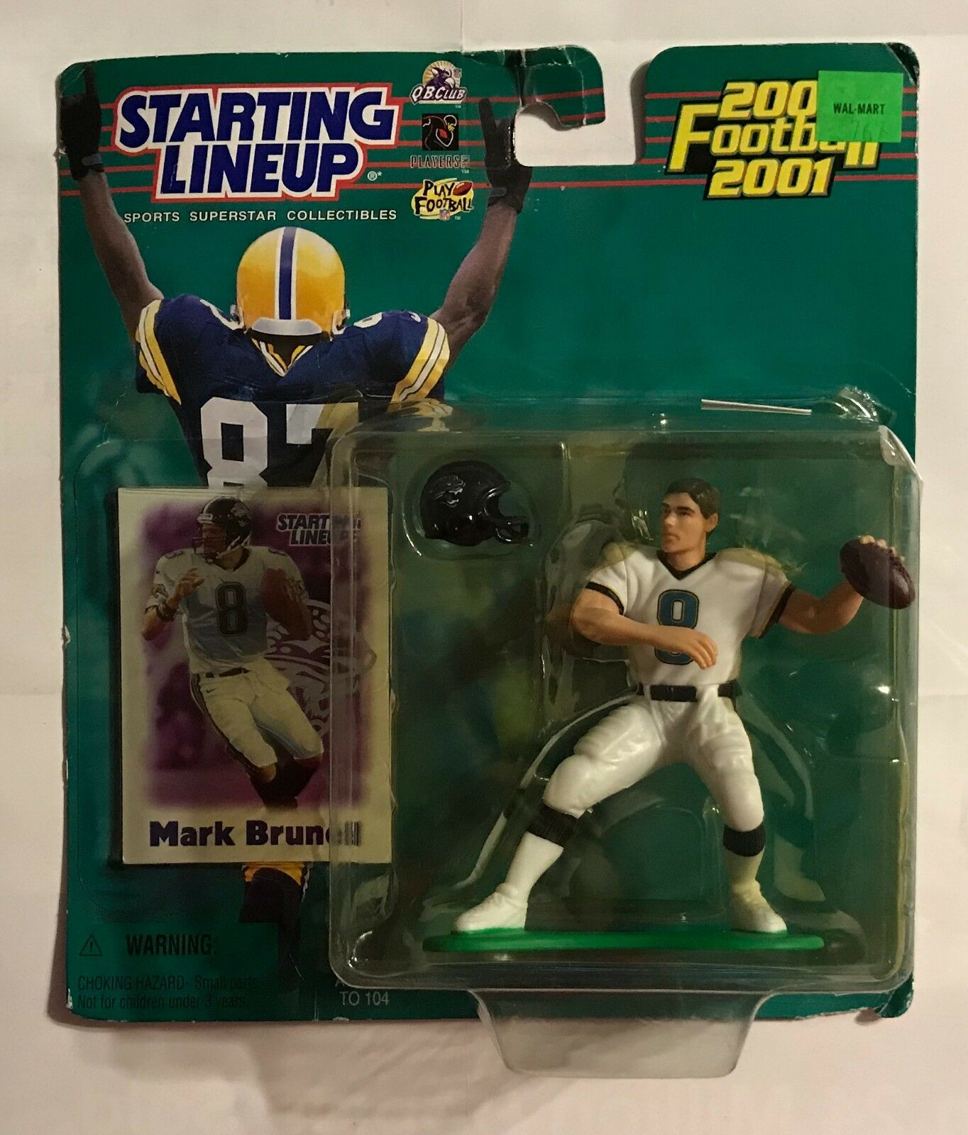 2000 2001 STARTING LINEUP - MARK BRUNELL - ACTION FIGURE