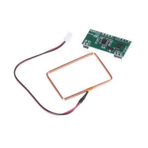 UART 125Khz EM4100 RFID Card Key ID Reader RF Module RDM6300 For Arduins4