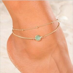 Women-Charm-Dangle-Anklet-Ankle-Bracelet-Chain-Sandal-Beach-Foot-Jewelry-Gift