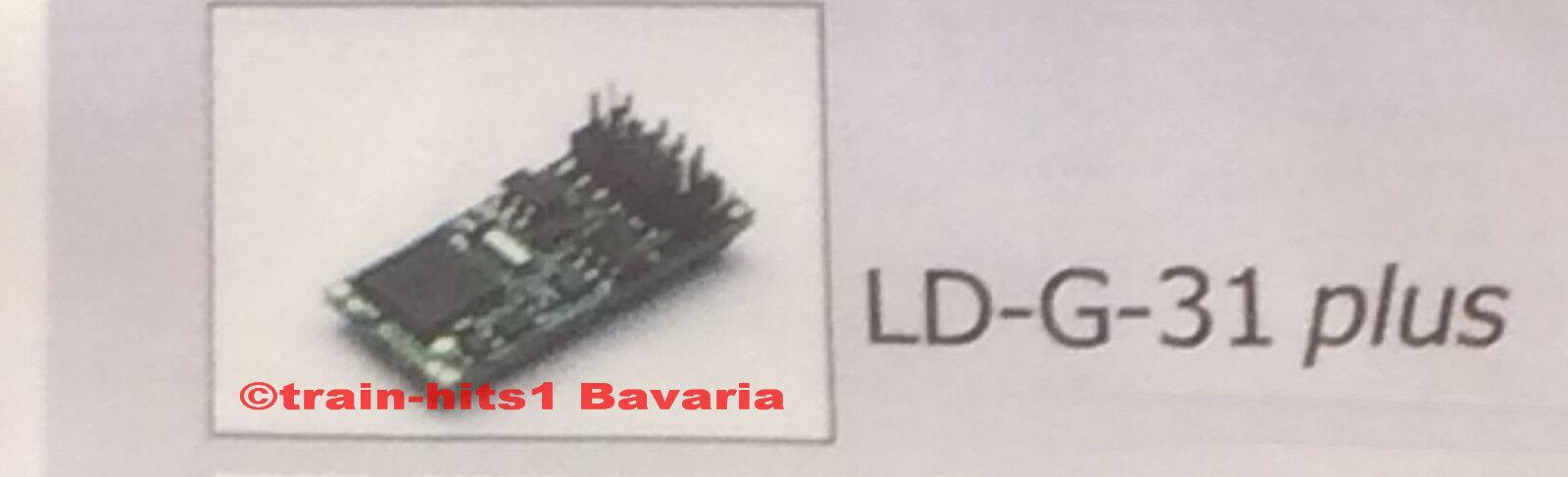 Tams h0 tutti i tipi Lokdecoder Lokdecoder Lokdecoder ld-g-31 Plus per cc motore, DCC MM + ACCESSORI 5bc72a