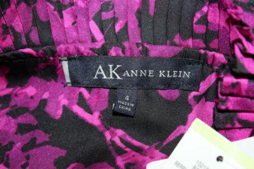Anne Étiquettes amp; Noir Klein Imprimé Magenta 4 Neuf Avec Floral s XnXaYrwx0