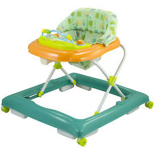 d973bf10e70d Chicco Walky Talky Baby Walker Green Wave Height Adjusts Play Tray ...