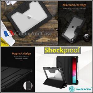 Etui-Coque-Housse-NILLKIN-Bumper-Smart-Case-iPad-Pro-11-iPad-9-7-2018-Film