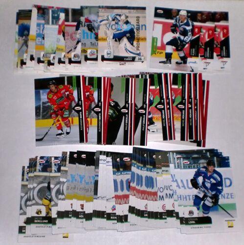 18-19 1 DEL Promo Karte zum Aussuchen Saison 2011-12 bis 2018-19