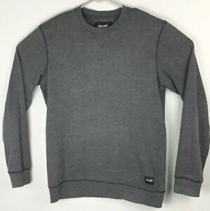 Only-And-Sons-Pullover-Gray-Long-Sleeve-Sweatshirt-Mens-M-Medium