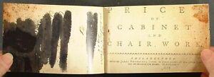Antique-1772-Philadelphia-Furniture-Maker-Pattern-Price-Book-Facsimile-Edition