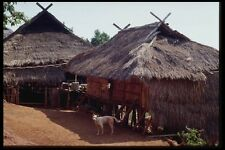 147081 Chiang Rai Akha Hill Tribe Village A4 Photo Print