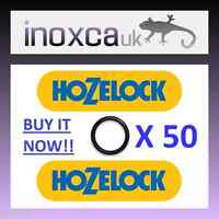 """50 HOZELOCK REPLACEMENT """"O"""" RINGS O-RING RUBBER SEAL GASKET KIT QUICK CONNECT 50"""