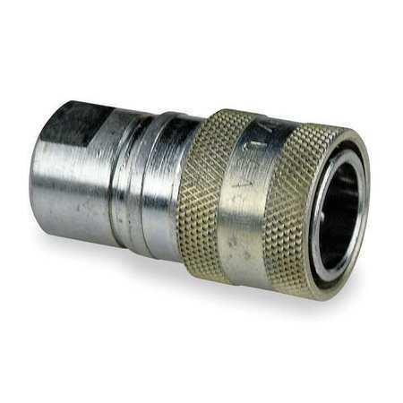 Body,Steel Safeway Hydraulics S45-3 Coupler Body,3//8-18,3//8 In