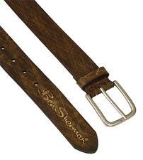 "Ben Sherman Big Men's Vintage Style Leather Fashion Belt XL FIT WAIST 38""-42"""