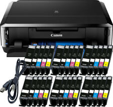 Canon Pixma ip7250 Imprimante + USB + 30x XL Encre, CD-Pression, Duplex, photo, WLAN
