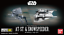 Bandai-Star-Wars-Vehicle-Model-008-AT-ST-amp-Snowspeeder-Model-Kit-Sealed-New thumbnail 1