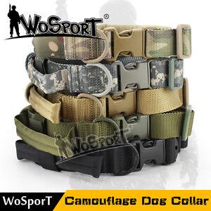 Heavy Duty Military Dog Collar