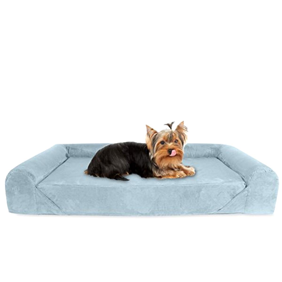 Brand New KOPEKS Deluxe Orthopedic Memory Foam Sofa Lounge Dog Bed - Small, grigio