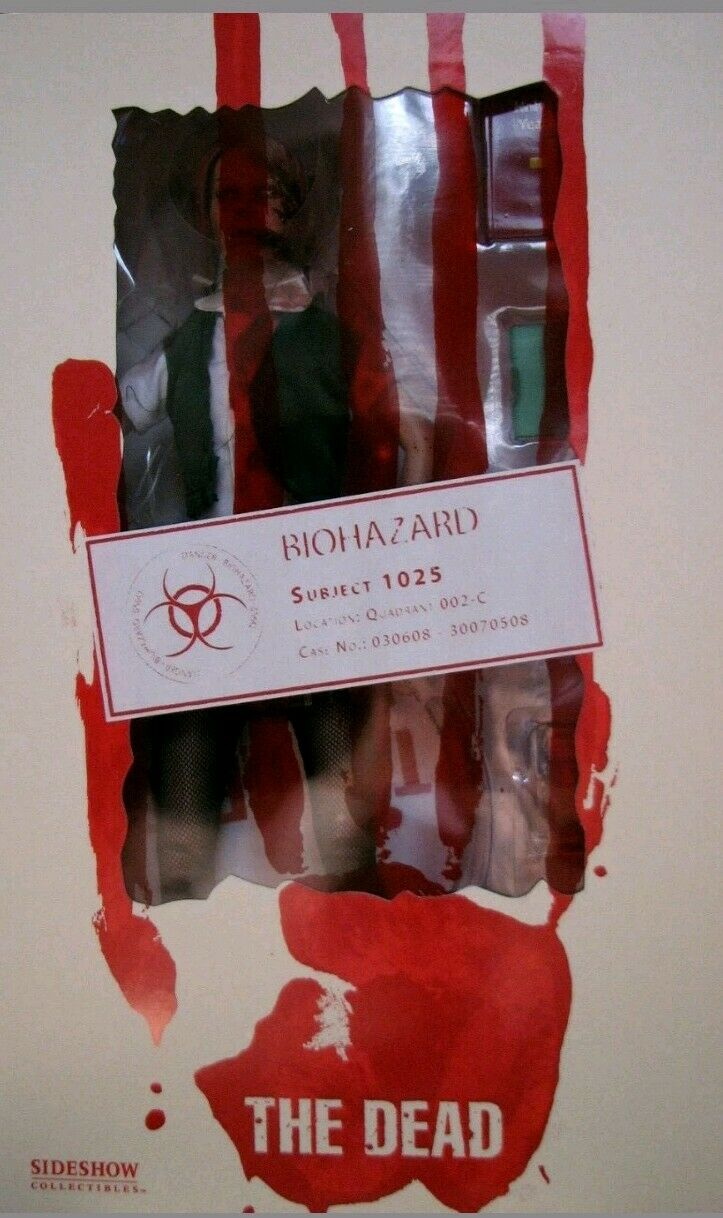 Sideshow The Dead  Figuras 12   - Subject 1025 THE BABYSITTER rot Outfit