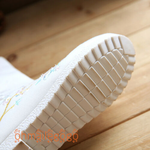 Hanfu Women/'s Boots Women/'s Shoes Chinese Dress Fit Wear Boots Cosplay Shoes