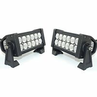 """6"""" inch Left+Right LED Submersible Trailer Boat Rectangle Stud Stop Tail Lights"""