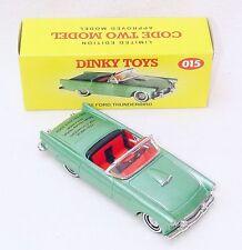 Matchbox Dinky Toys 1:43 FORD THUNDERBIRD 1955 OPEN TOP Model Car Code-2 015 MIB