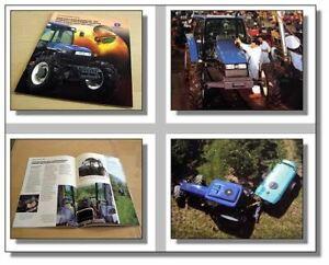 New Holland Tn65f Tn75f Tn90f Tracteur Prospectus 1997-afficher Le Titre D'origine L6uo3rr7-07223737-938570770