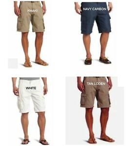 38-Caribbean-Joe-Men-039-s-Cargo-Shorts-4-colors-100-Cotton-all-sizes-New-with-tag