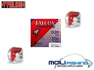 Nylon Pêche Falcon Prestigieux 1000 M Fluor Coated Pour Moulinet De Et Bornes