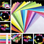500 Square Double Sided Origami Folding Lucky Wish Paper Crane Craft Color Sheet