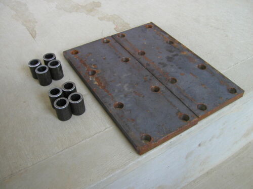 Farmall MTA 560 450 400  IH Tractor 8 hole fender spacer plates /& 8 risers 2