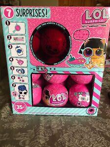 FULL CASE BOX 18 BALLS WAVE 2 EYE SPY SERIES 4 PETS REAL MGA LOL SURPRISE