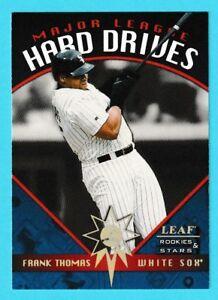 2f8a22107b4 1998 Leaf Rookies   Stars Hard Drives Frank Thomas White Sox  5 678 ...