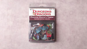 DONJEONS-ET-DRAGONS-EXPANSION-PACK-ONE-SCALE-039-S-SET-TOKEN-SET