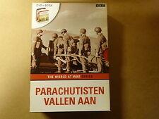 DVD + BOEK / THE WORLD AT WAR SERIES - PARACHUTISTEN VALLEN AAN ( BBC )