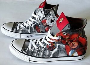 3ac2714d3388 Image is loading Chuck-Taylor-All-Star-Converse-DC-Comics-Flash-