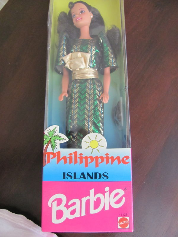 NEW IN BOX BARBIE DOLL PHILIPPINE ISLANDS BARBIE VERY NICE